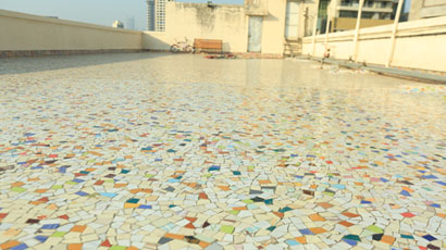 Water proofing with China chips